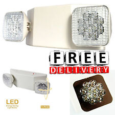 Emergency Led Lighting Home Office Unit Lamp Fixtures Adjustable Rechargeable