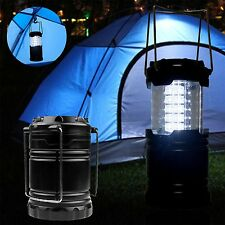Portable Collapsible 30 LED Camping Lanterns Lights Hiking Outdoor Tent Lamp PC