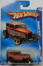2009 Hot Wheels Midnight Otto Col. #126 (Brown)(Gold 3 Spoke Wheels)
