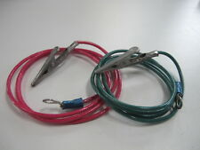 LEAD WIRES FOR PLATING RECTIFIER JEWELRY TOOL ALLIGATOR CLAMPS