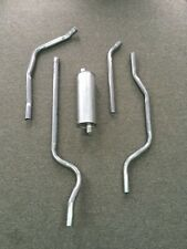 1965-1966 Chevy K-10 6 cyl 292 ci 115 WB Complete Single Exhaust System