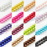 Lots Glass Pearl Round Spacer Loose Beads Necklace Craft Making 4/6/8/10/12MM