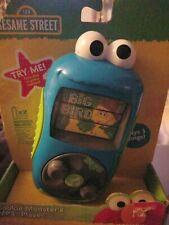 "Sesame Street Cookie Monster ""MP3 Player"" Elmo Ernie Big Bird Radio"