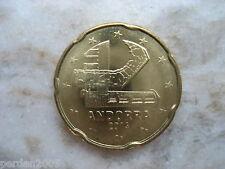 ANDORRA 2014 20 EURO CENT FDC FIOR DI CONIO UNC FROM ROLL