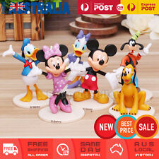 6x Mickey Mouse figurine figure cake topper Minnie Donald Daisy Goofy Kids Toy