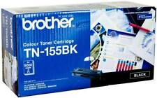 GENUINE/ORIGINAL Brother TN-155BK,TN155BK,155 BK B BLACK Toner Printer Cartridge