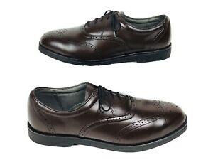 Red Wing Wingtip Brogue Oxford ASTMF-2413 Steel Toe 6701 Mens Shoes Sz 12 D