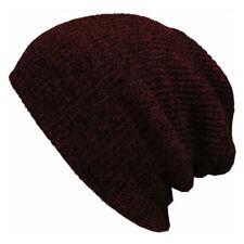 Men Women Unisex Knit Baggy Beanie Winter Warm Hat Ski Slouchy Chic Knit Caps