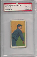 1909 T206 JIM SCOTT PSA 4 SWEET CAPORAL 350 SUBJECTS FACTORY 30