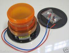 AMBER STROBE LIGHT, 12 - 110 VDC, NEW