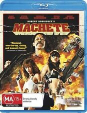 Machete Blu-ray=DANNY TREJO-JESSICA ALBA=REGION B AUSTRALIAN RELEASE=LIKE NEW
