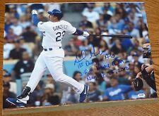 Adrian Gonzalez Signed 1st Dodgers Home Run 16x20 Photo PSA/DNA COA Picture Auto
