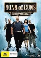 Sons Of Guns : Season 4 (DVD, 2013, 2-Disc Set) Region 4