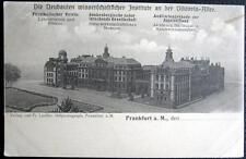 GERMANY~Deutschland ~1900's FRANKFURT ~ Neubauten Wissenschaftlicher Institute