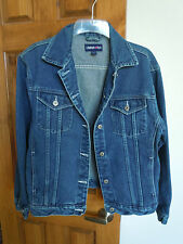 Limited Too girls button-down denim jacket size XL 100% cotton