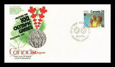DR JIM STAMPS 25C MONTREAL OLYMPIC GAMES FIRST DAY ISSUE CANADA UNSEALED COVER