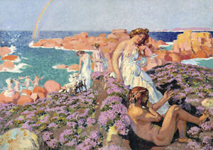 Ulysses with Calypso by Maurice Denis. Fine Art Print/Poster