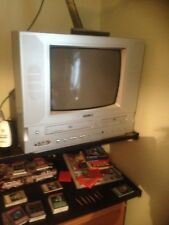 ACOUSTIC SOLUTIONS 14in TV /DVD/VHS/ COMBI   COLLECTION ONLY WILL NOT POST