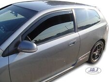 Honda Civic SPORT Type R  EP2 mk7 2001- 2005 Wind deflectors 2pc set TINTED HEKO