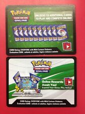 10 XY EVOLUTIONS Codes Pokemon TCG Online Booster Pack Free Shipping !!