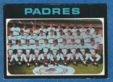 1971 O-Pee-Chee SAN DIEGO PADRES Team Card (vg)