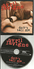 AVRIL LAVIGNE Don't tell me w/ MP3 TRACK 2004 USA PROMO radio DJ CD single