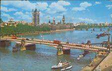 Lambeth bridge and houses of parliament