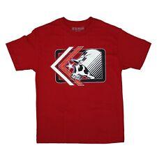 Metal Mulisha Men's Edge Red Short Sleeve T shirt