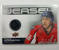 2010-11 Shaone Morrisonn UD Game Jersey Card Hockey GJ-SH Washington Capitals