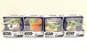 Lot of 4 Disney Star Wars Mandalorian The Child The Bounty Collection Series 2
