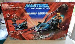He-Man Masters of the Universe Bashin' Beetle 2002 Mattel NIB