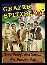 Grazer Spitzbuam Autogrammkarte Original Signiert ## BC 95863