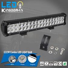 "18inch 600W Led Light Bar Flood Spot Offroad Work Lights 4WD Truck Atv Ute 17"""