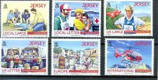 Jersey Red Cross-Princess Diana - Helicopter-vehicles mnh new issue