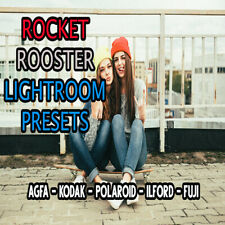 ROCKET ROOSTER analog LIGHTROOM presets ADOBE wedding portrait FILM FUJI ILFORD
