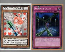 Yugioh Cards - Fiendish Chain SDWA-EN036 1st Edition