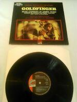 JAMES BOND 007 GOLDFINGER O.S.T LP EX!!! UK SUNSET JOHN BARRY SHIRLEY BASSEY