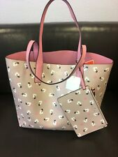 NWT Kate Spade Arch Place Mya Breezy Floral Reversible Leather Tote MSRP $329