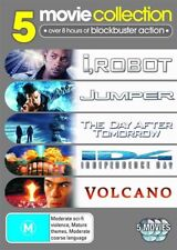 I, Robot / Jumper / The Day After Tomorrow / Independence Day / Volcano (DVD, 20