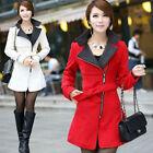 Hot Fashion Women's Outdoor Woolen Overcoat Coats Korean Slim Fit Jacket Outwear