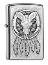 Zippo Lighter ● DreamCatcher Skull emblema ● 2005161 ● nuevo embalaje original New ● a80
