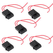 5 Pcs 22 Gauge ATC Fuse Holder Box In-line AWG Wire Copper 12V Power Blade SR1G