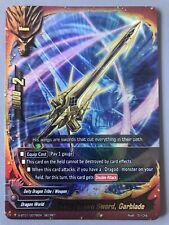 FUTURE CARD BUDDYFIGHT DEITY DRAGON SWORD GARBLADE S-BT01/0076EN SECRET