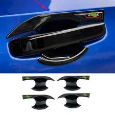 Fit For Honda Civic 11th 2022 UP Glossy Black Side Door Bowl Cup Cover Trim 4pcs