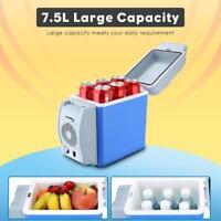 Car Refrigerator Electric Cooler Warmer Camping Fridge Travel Ice/Cool Box