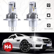 H4 9003 LED Headlight Bulbs Kit High&Low Beam Upgrade 120W 24000LM 6000K White
