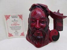Confucius Royal Doulton Flambe Character Ltd Edition Toby Jug D7003 +Certificate