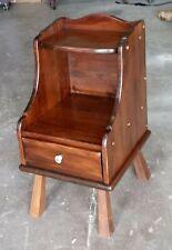 "ETHAN ALLEN Antiqued Pine Old Tavern 14"" Chairside Chest/ Nightstand 12-8005"