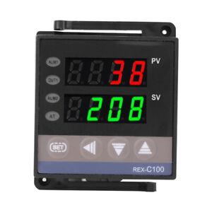 100-240 (V) REX-C100 Thermocouple Digital PID Temperature Controller Thermostat