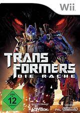 Transformers - Die Rache für Nintendo Wii | NEUWARE | Komplett in Deutsch!